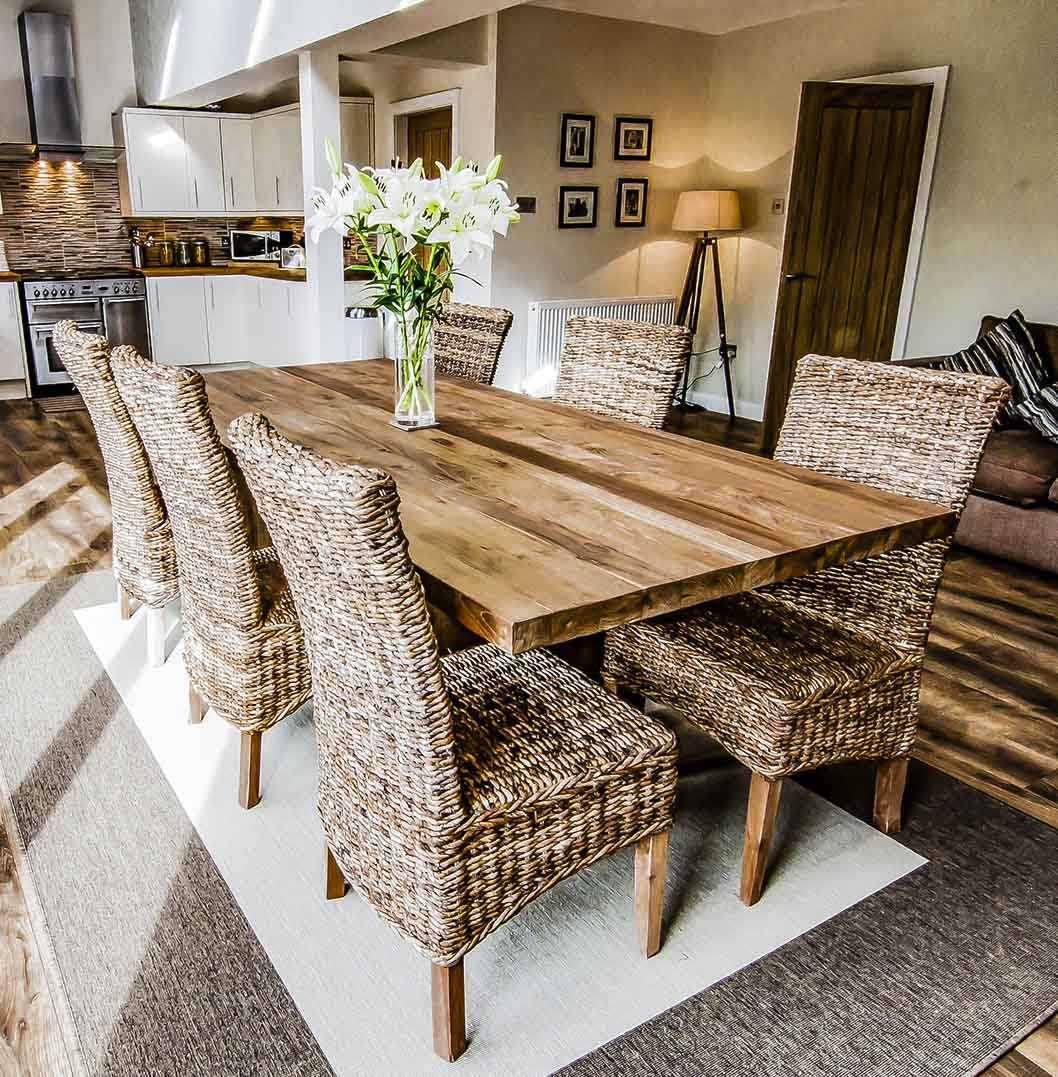 Reclaimed Wood Dining Table And Chairs Sunut Reclaimed Wood Dining Table And Bench Set Stunning