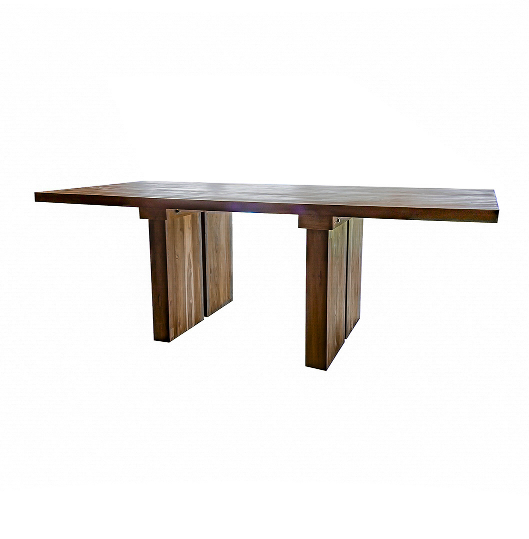 Wood Benches For Dining Tables: 'Sunut' Reclaimed Wood Dining Table And Bench Set. Stunning