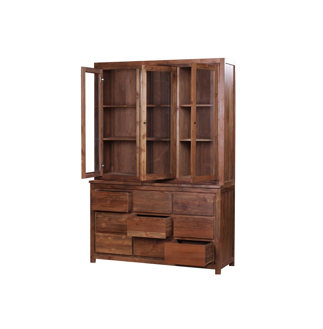 Gondang Reclaimed Teak Display Cabinet2