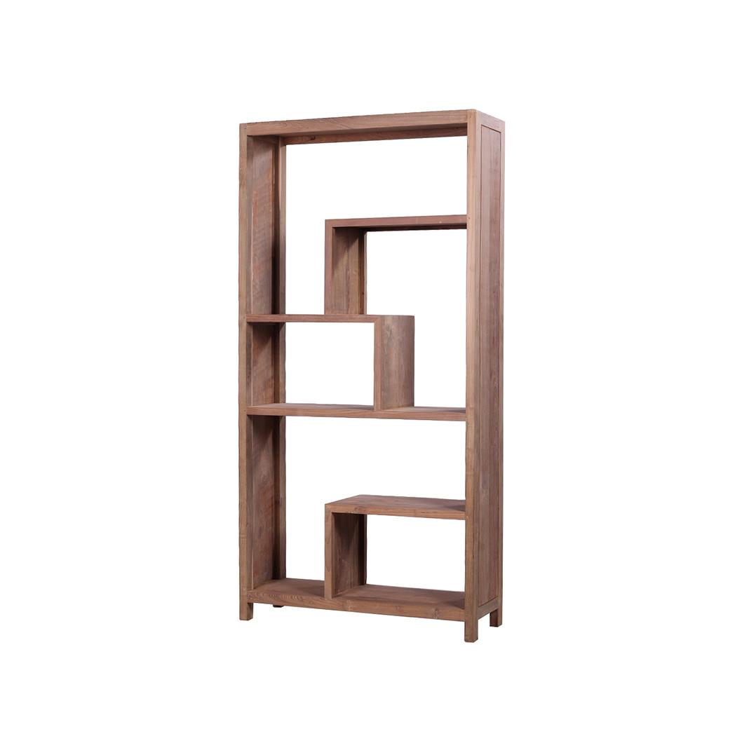 Selong Reclaimed Wood Bookcase