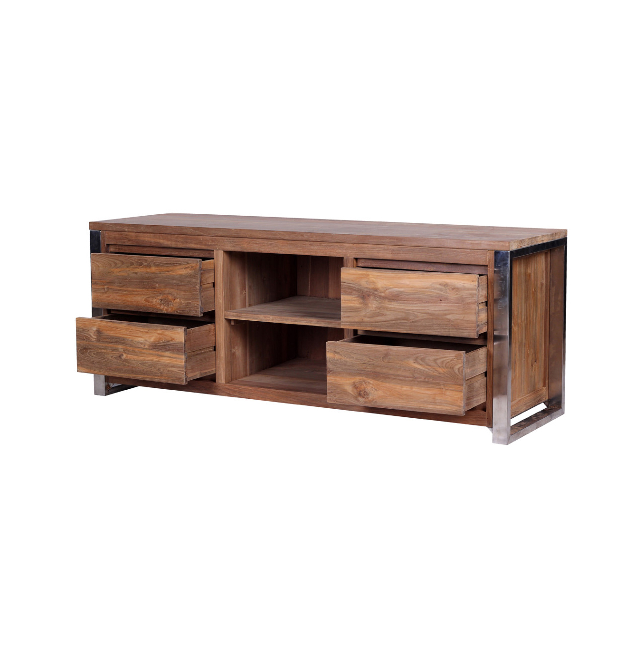 Rarem Reclaimed Wood TV Stand