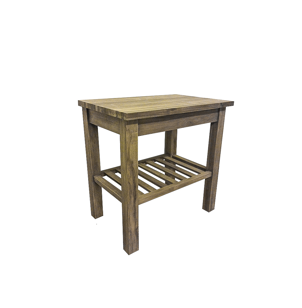 Kerembong reclaimed wood washstand