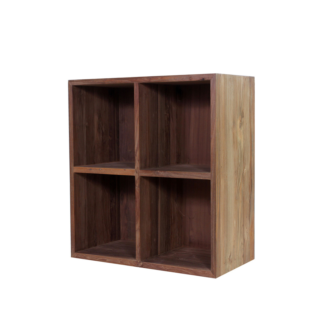 Mujur reclaimed wood bookcase