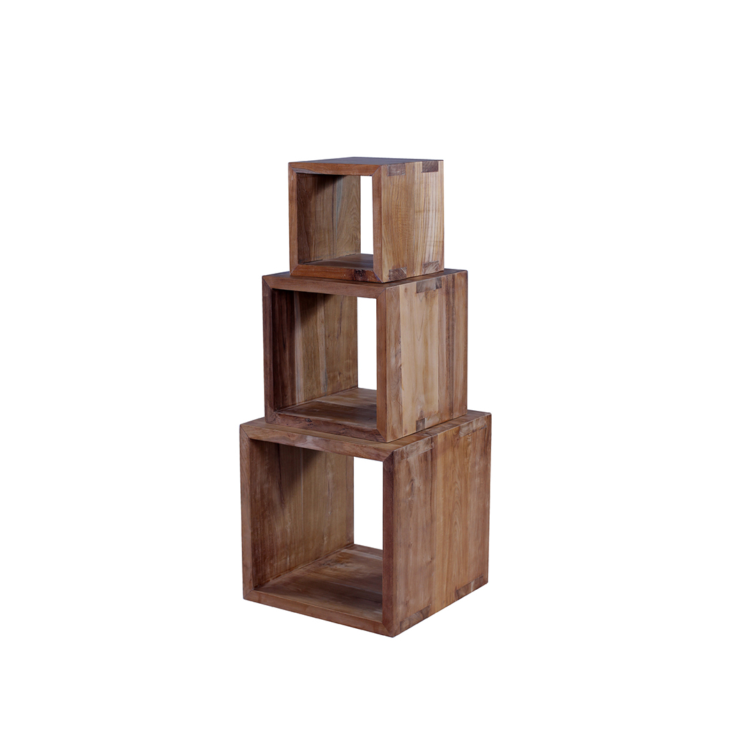 Sapit Reclaimed Cube Nest of Tables