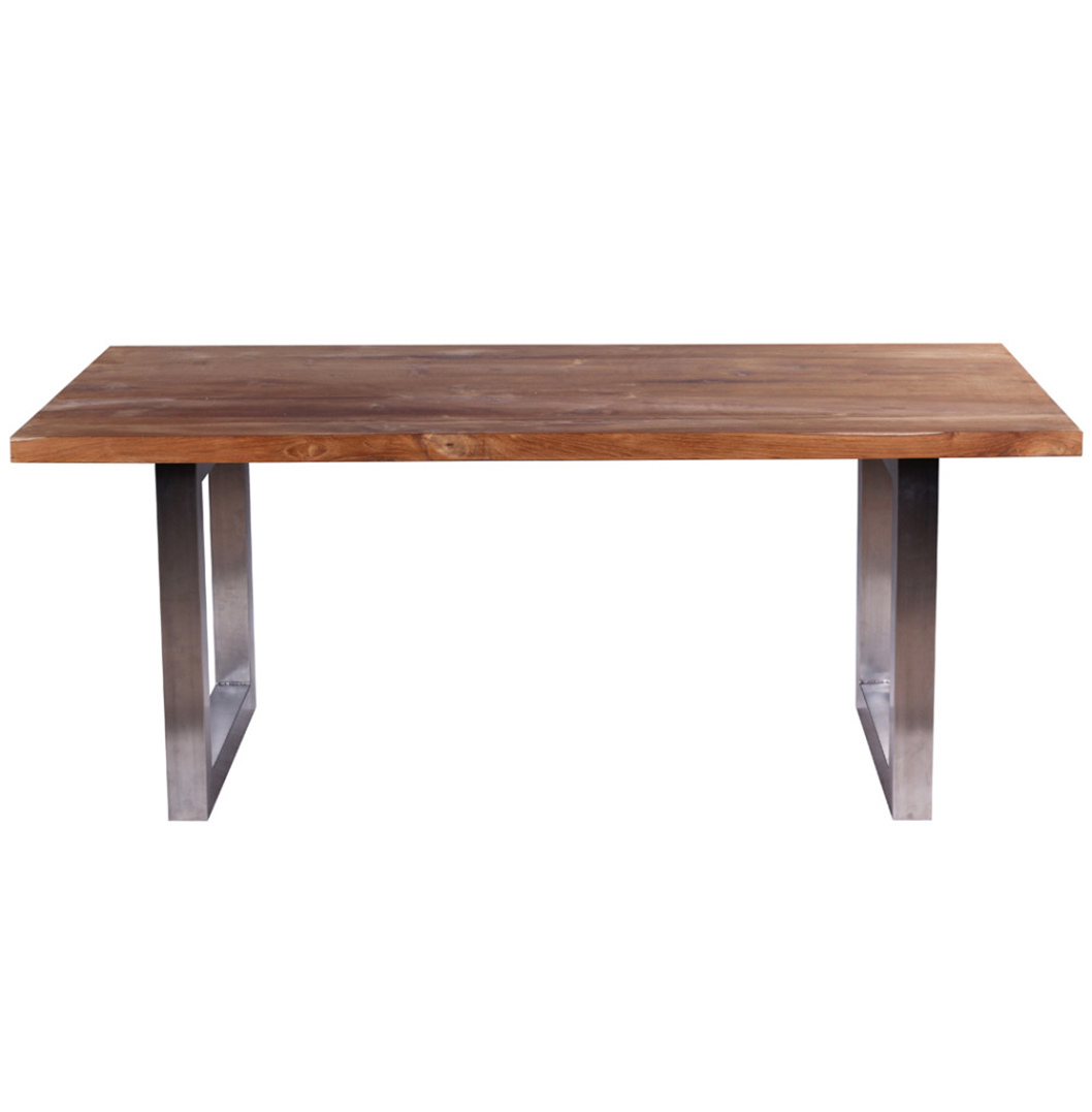 Waja Industrial Style Dining Table Part 57