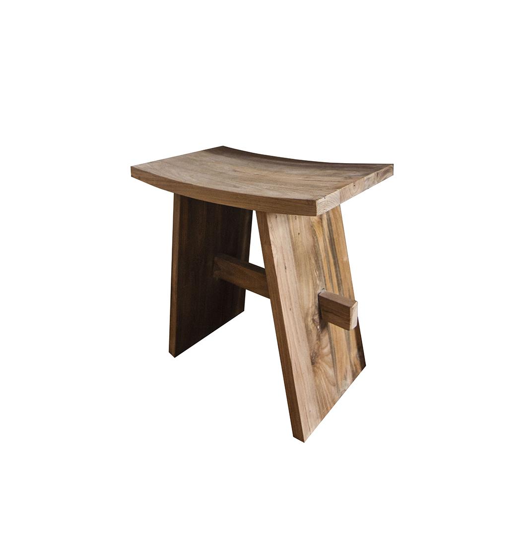 Waru Reclaimed Wood Stool