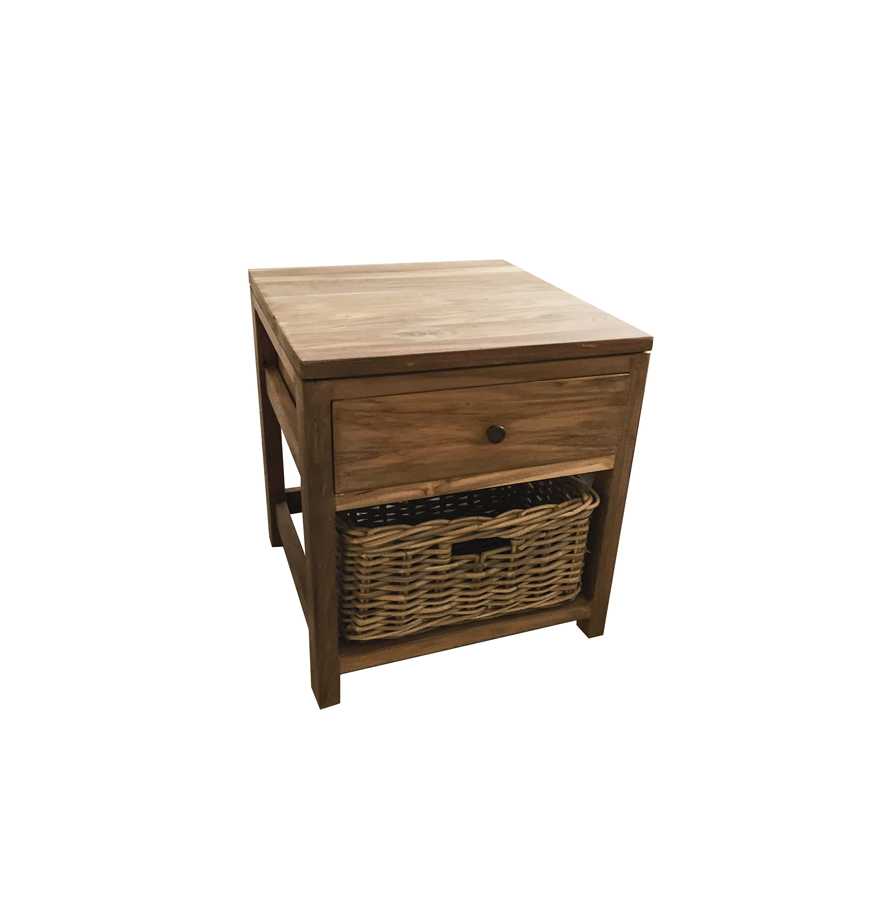 Bayan Rustic Bedside Table