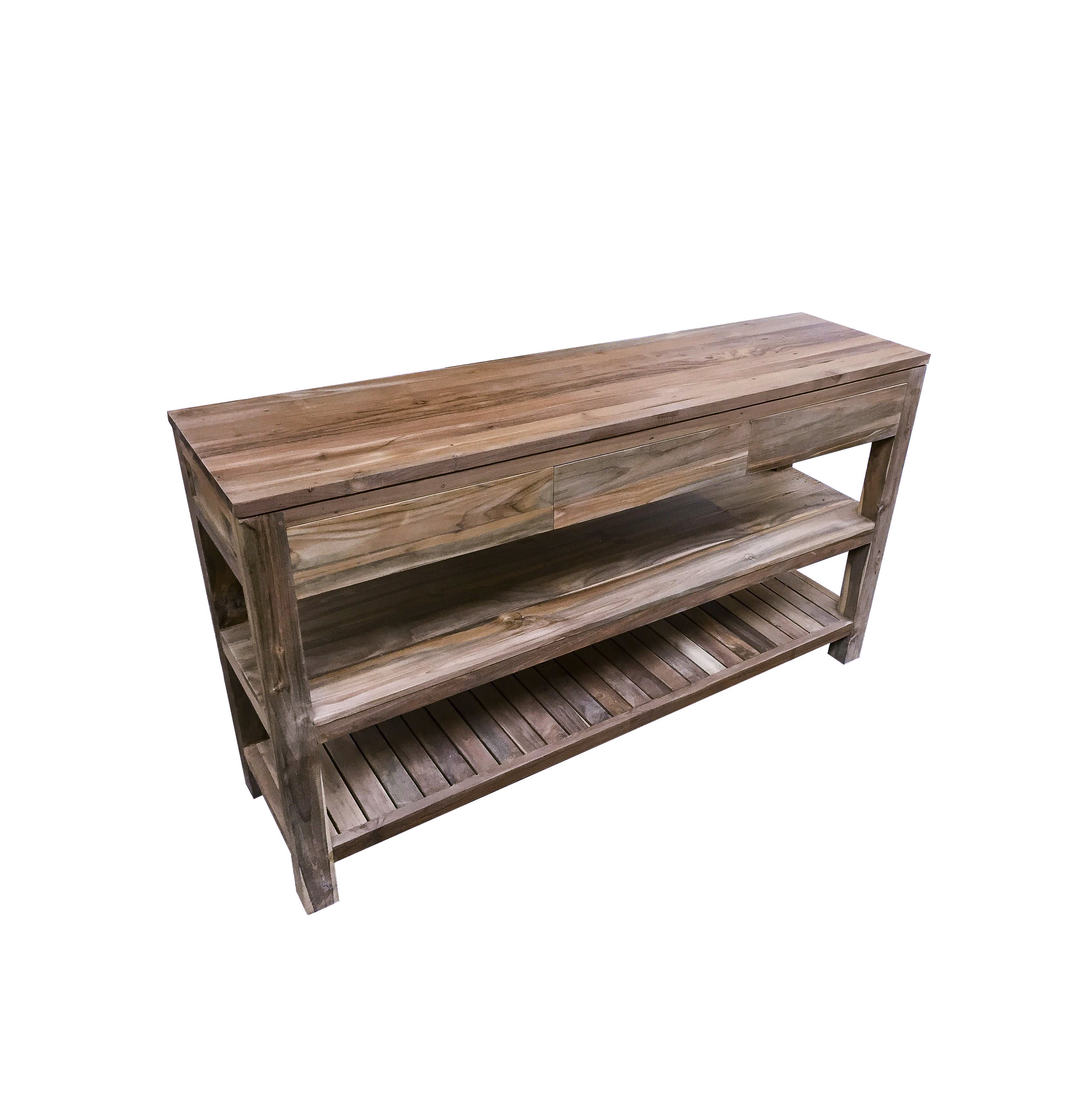 The Peneda Reclaimed Wood Console Table_1