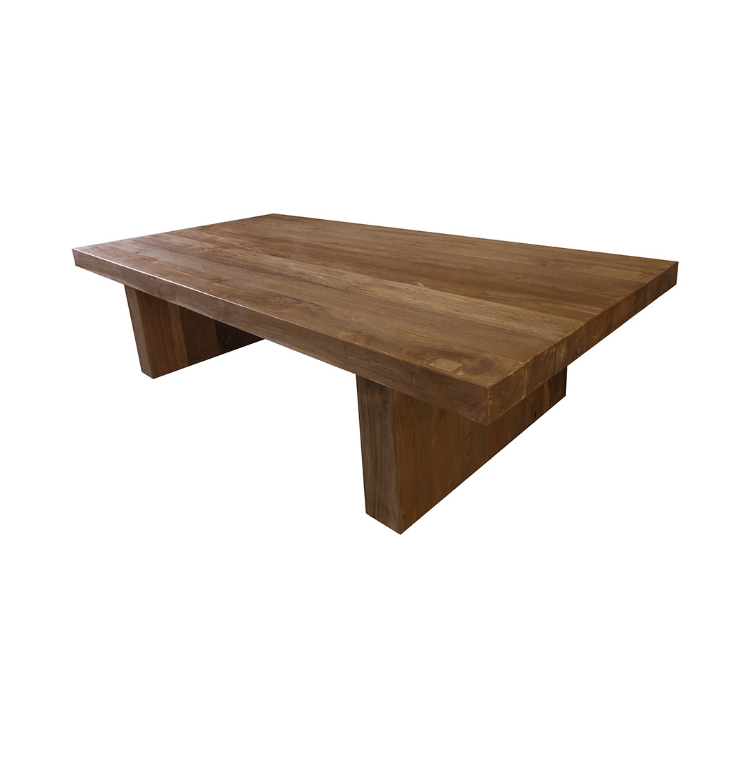 Teak coffee table reclaimed and stunning free uk delivery Solid teak coffee table