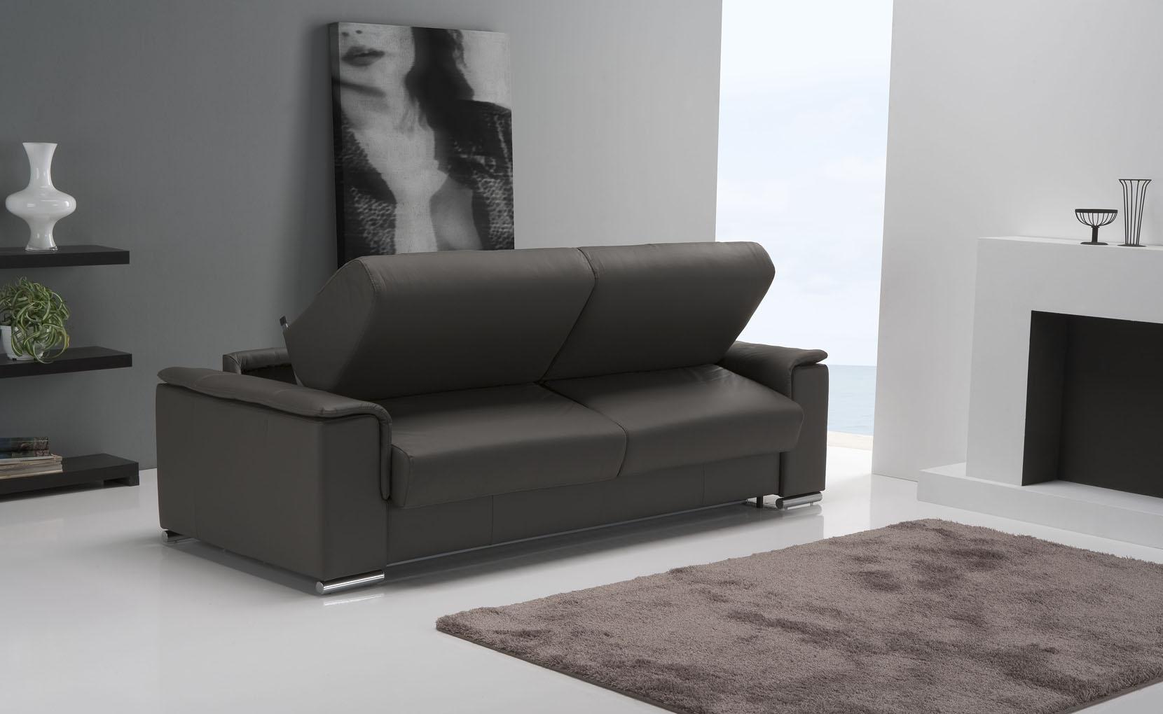 Cecilia Leather Sofa