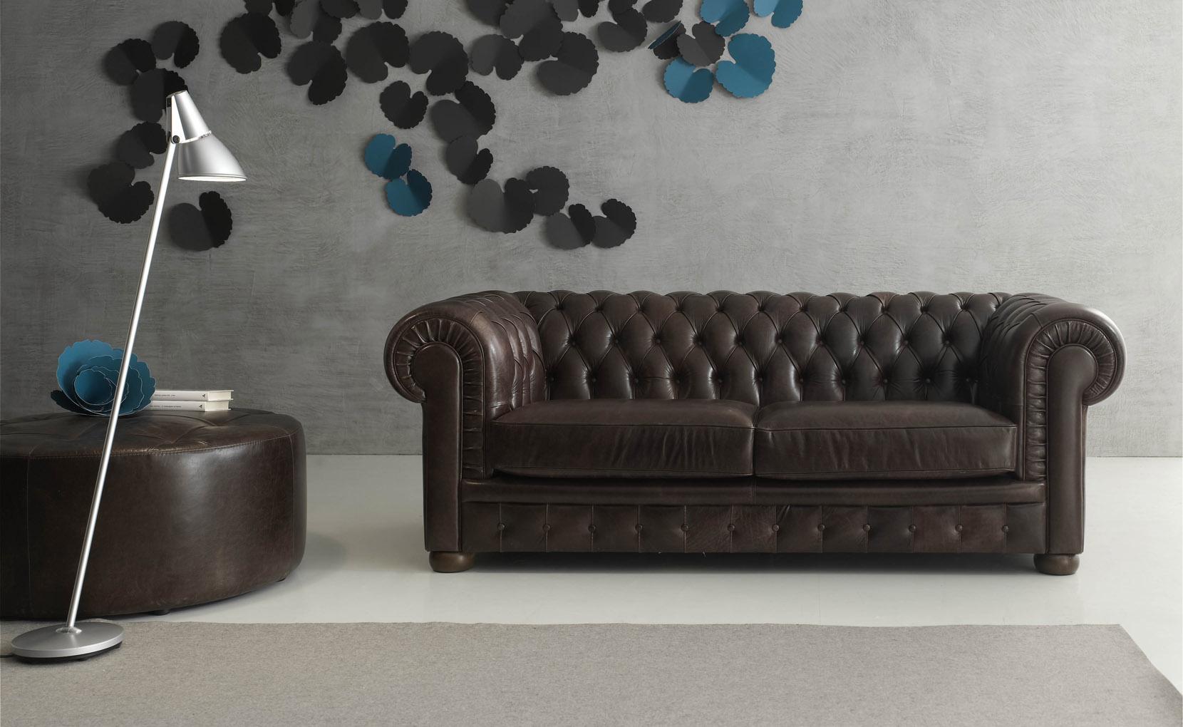 Amerigo Leather Sofa