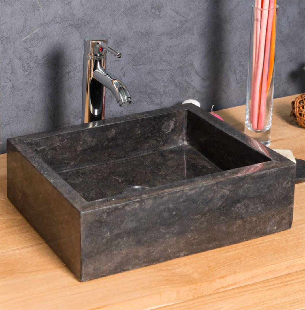 COUNTERTOP WASHBASIN MILAN RECTANGLE 30CM X 40CM BLACK3