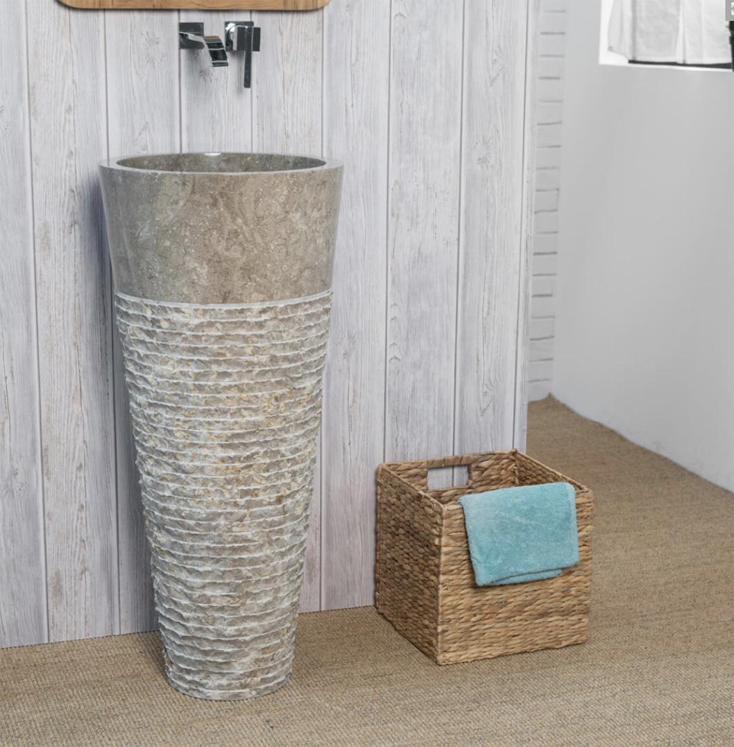 Ombak pedestal grey