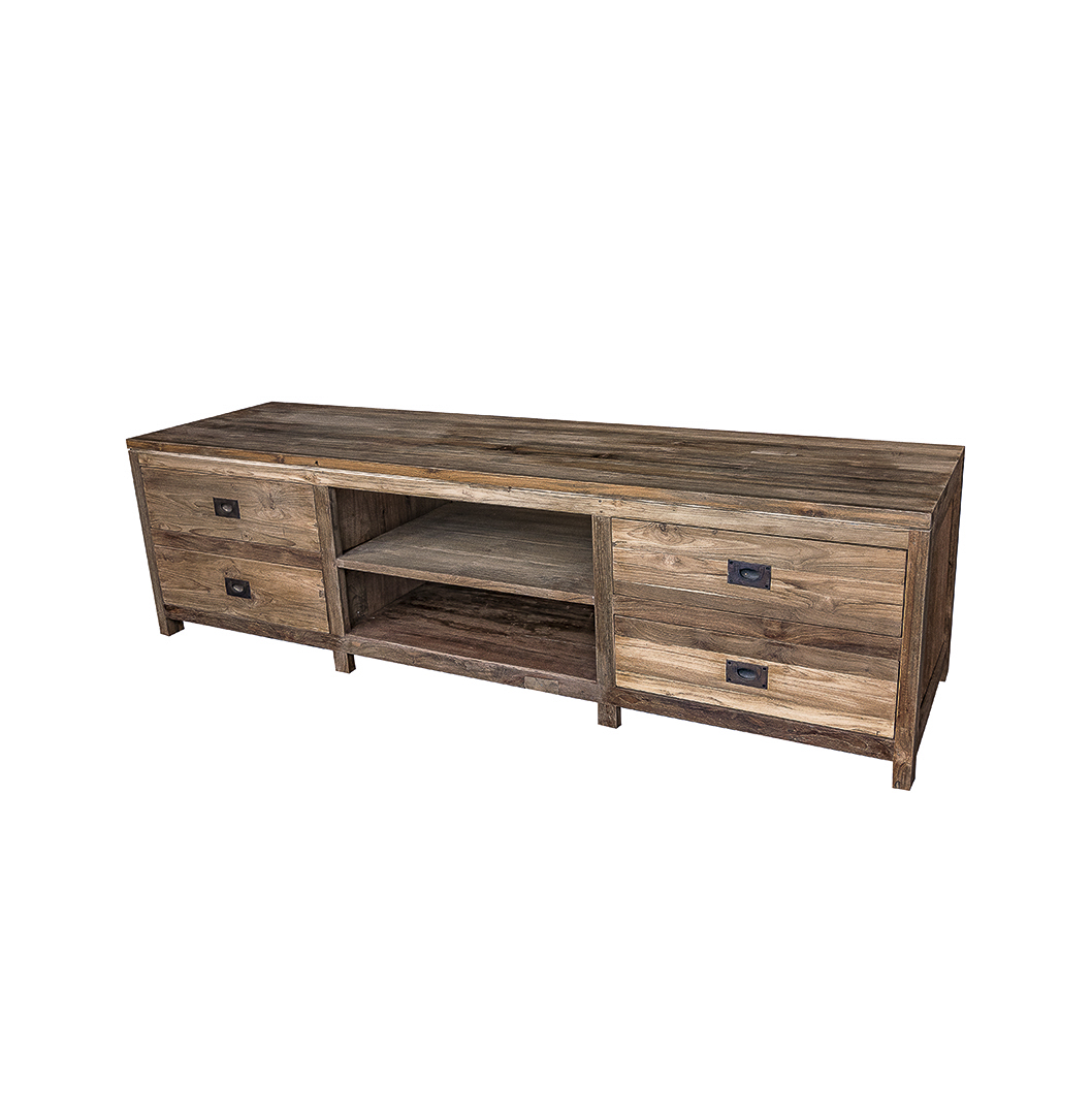 reclaimed tv unit 1 to use